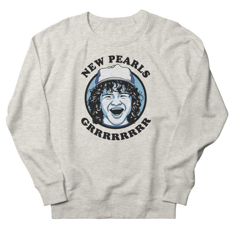 New Pearls Women's French Terry Sweatshirt by Olipop Art & Design Shop