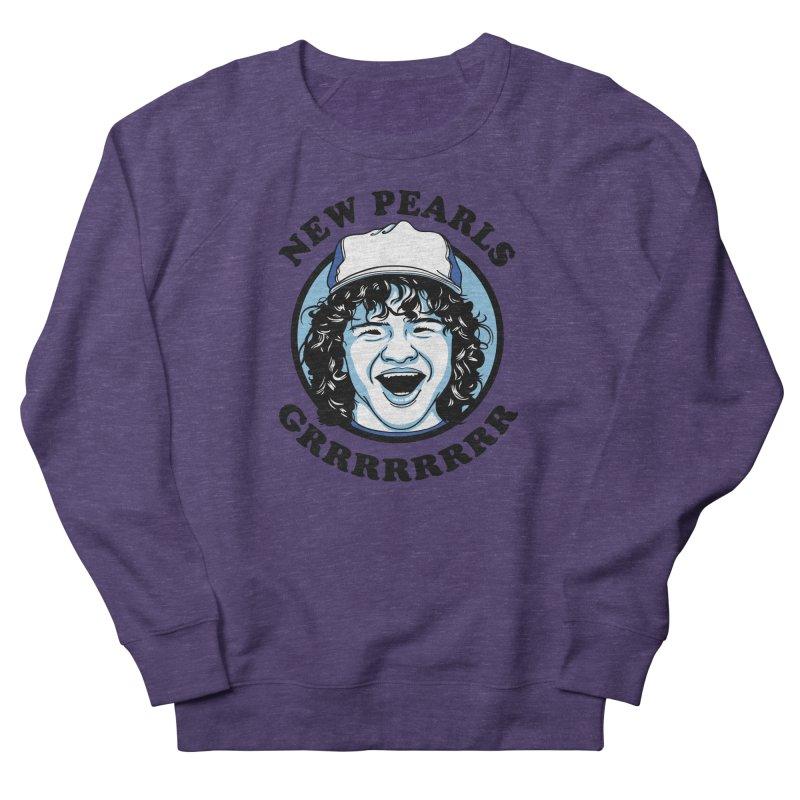 New Pearls Men's French Terry Sweatshirt by Olipop Art & Design Shop