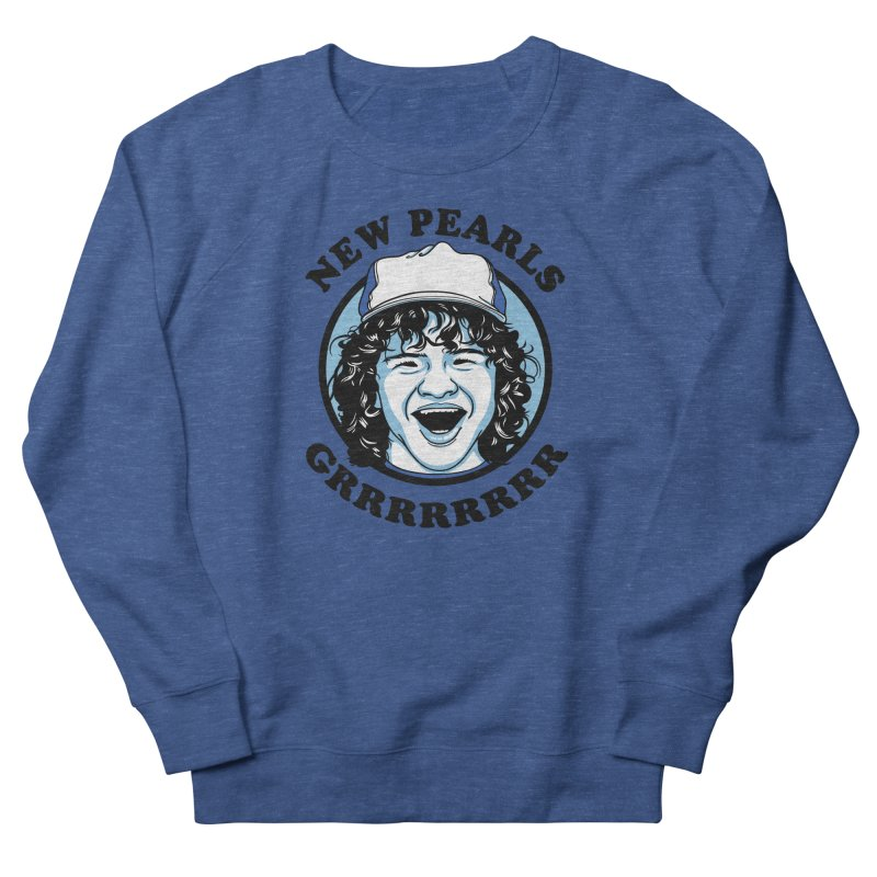 New Pearls Men's French Terry Sweatshirt by Olipop Art & Design Shop