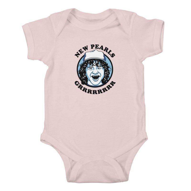 New Pearls Kids Baby Bodysuit by Olipop Art & Design Shop