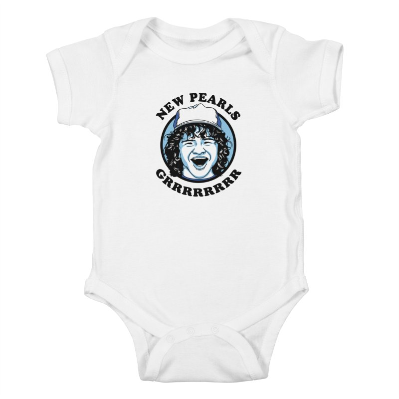 New Pearls Kids Baby Bodysuit by Olipop Art & Design Shop