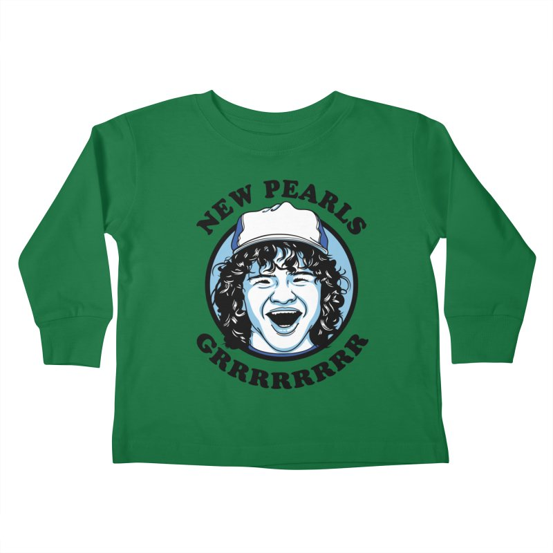 New Pearls Kids Toddler Longsleeve T-Shirt by Olipop Art & Design Shop