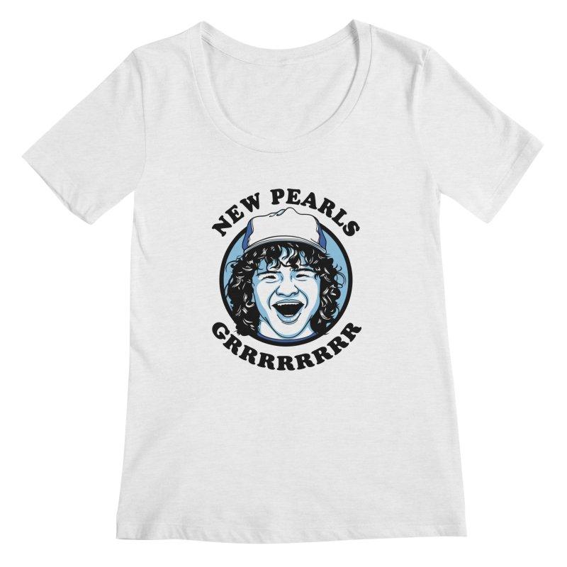 New Pearls Women's Regular Scoop Neck by Olipop Art & Design Shop