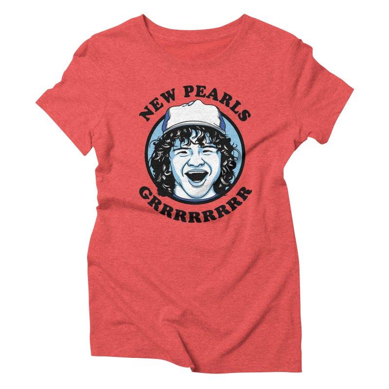 New Pearls Women's Triblend T-Shirt by Olipop Art & Design Shop