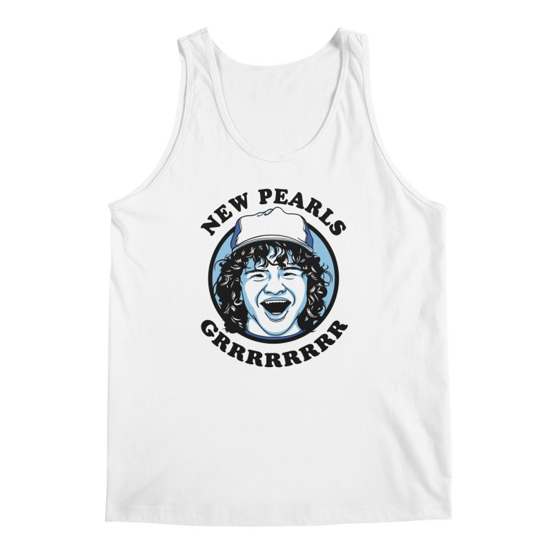New Pearls Men's Regular Tank by Olipop Art & Design Shop