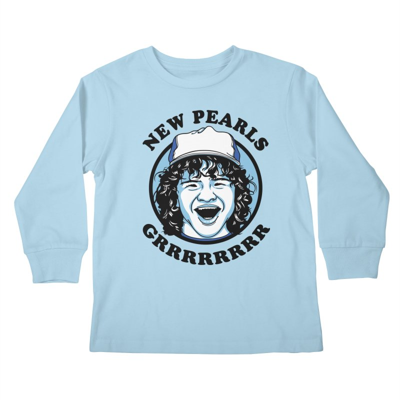 New Pearls Kids Longsleeve T-Shirt by Olipop Art & Design Shop
