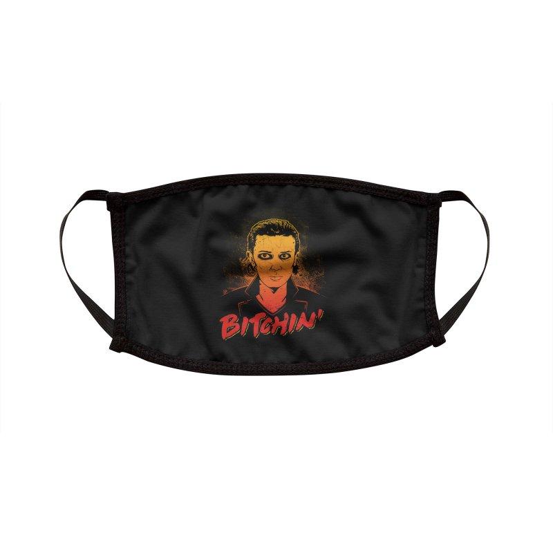 Bitchin' Accessories Face Mask by Olipop Art & Design Shop