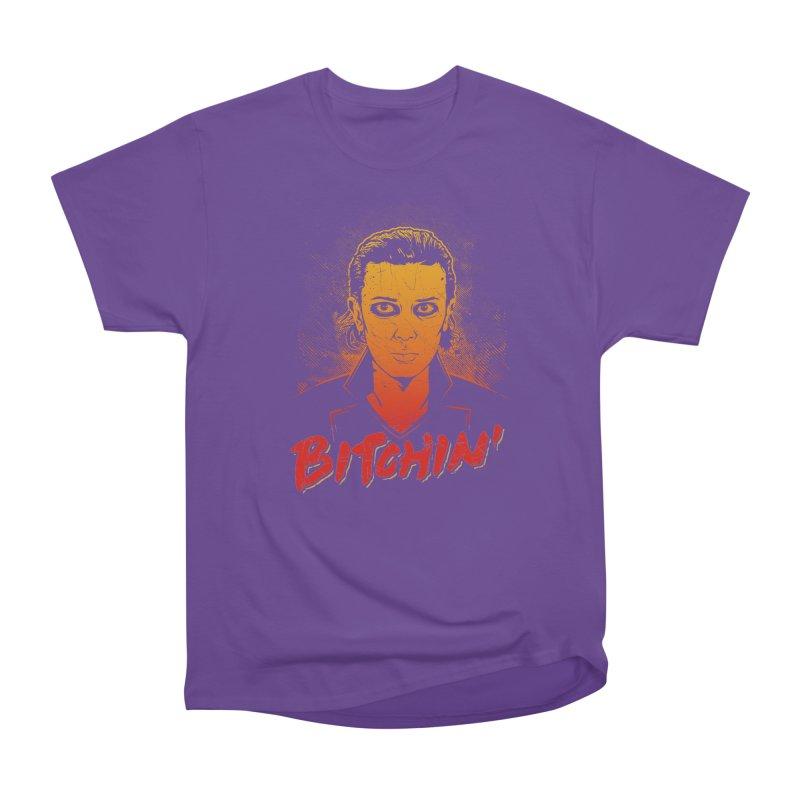 Bitchin' Women's Heavyweight Unisex T-Shirt by Olipop Art & Design Shop