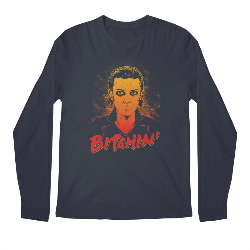 Bitchin' Men's Regular Longsleeve T-Shirt by Olipop Art & Design Shop
