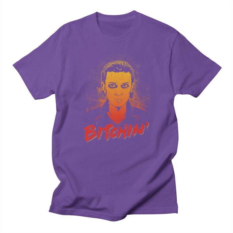 Bitchin' Men's Regular T-Shirt by Olipop Art & Design Shop