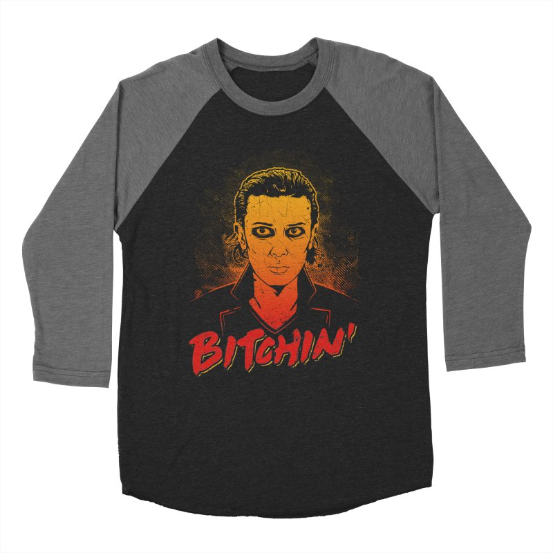 Bitchin' Men's Baseball Triblend T-Shirt by Olipop Art & Design Shop