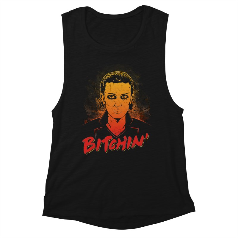 Bitchin' Women's Muscle Tank by Olipop Art & Design Shop