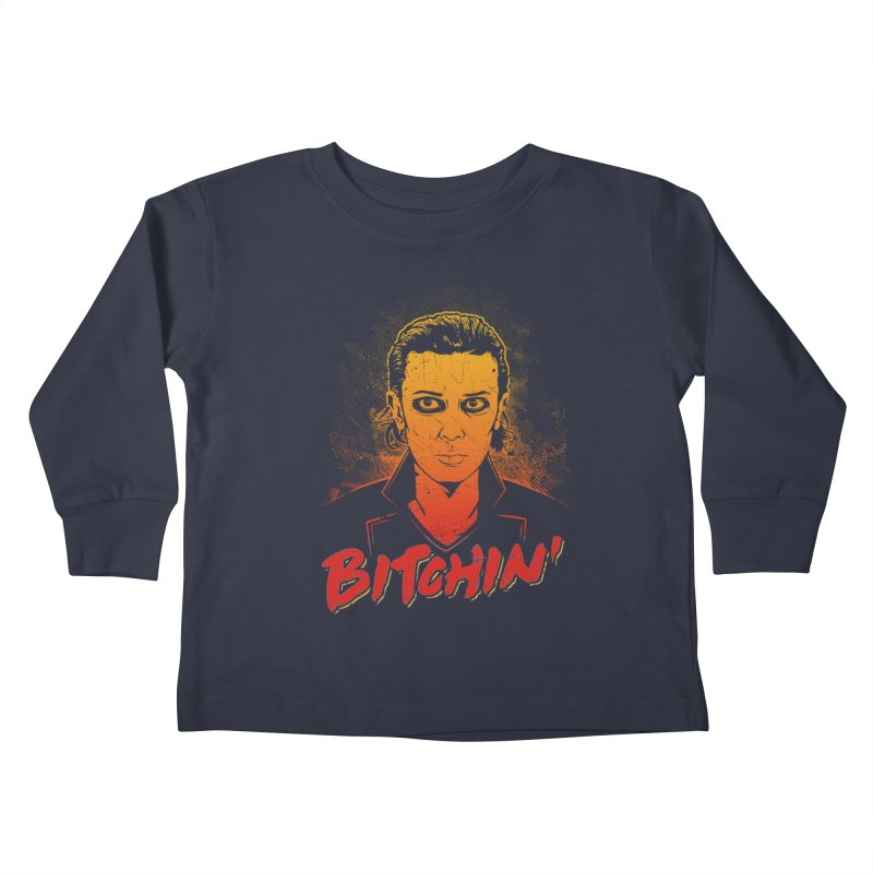 Bitchin' Kids Toddler Longsleeve T-Shirt by Olipop Art & Design Shop