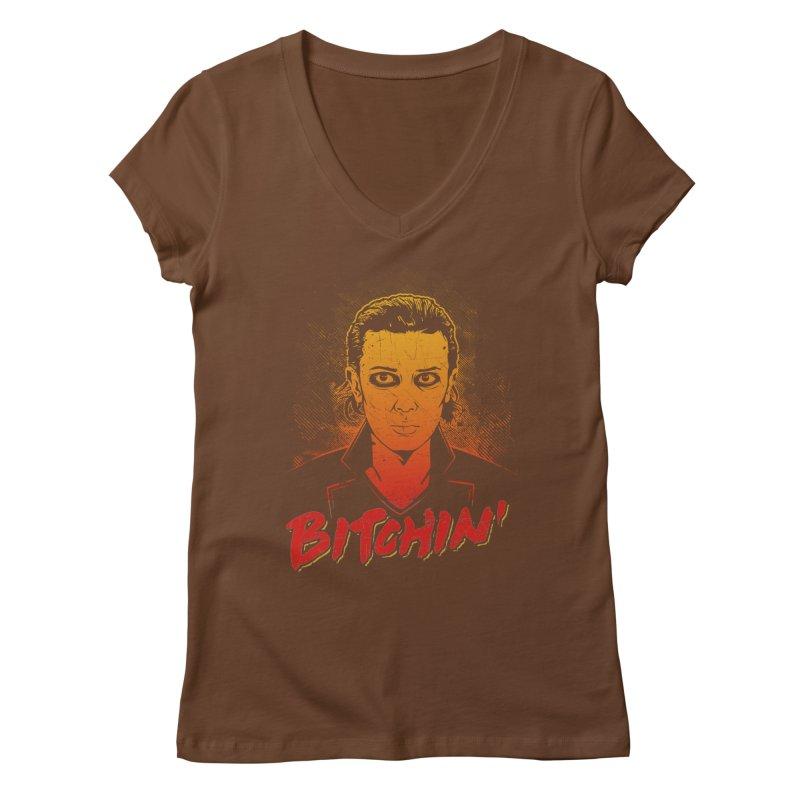 Bitchin' Women's Regular V-Neck by Olipop Art & Design Shop