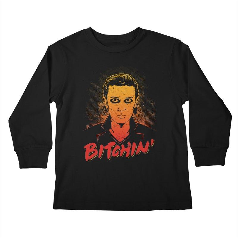 Bitchin' Kids Longsleeve T-Shirt by Olipop Art & Design Shop
