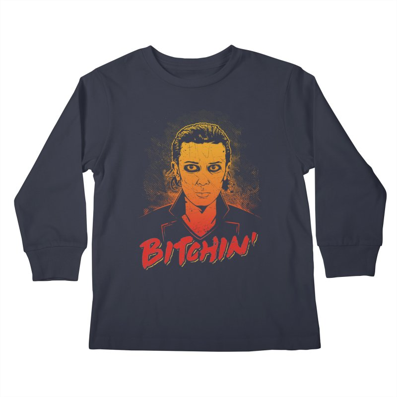 Bitchin' Kids Longsleeve T-Shirt by Olipop Art & Design Shop