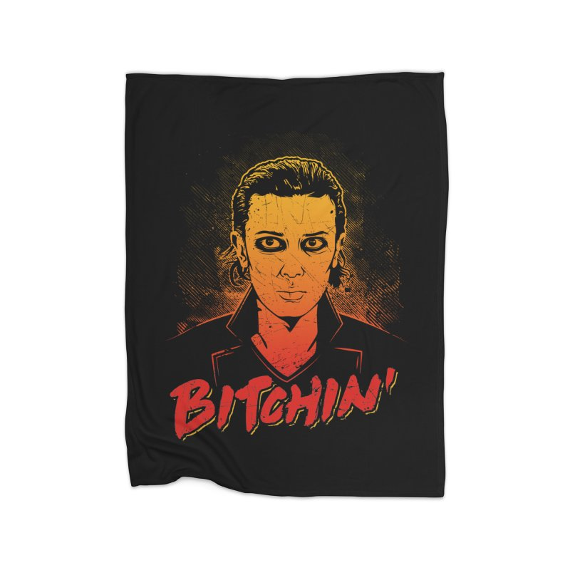Bitchin' Home Fleece Blanket Blanket by Olipop Art & Design Shop