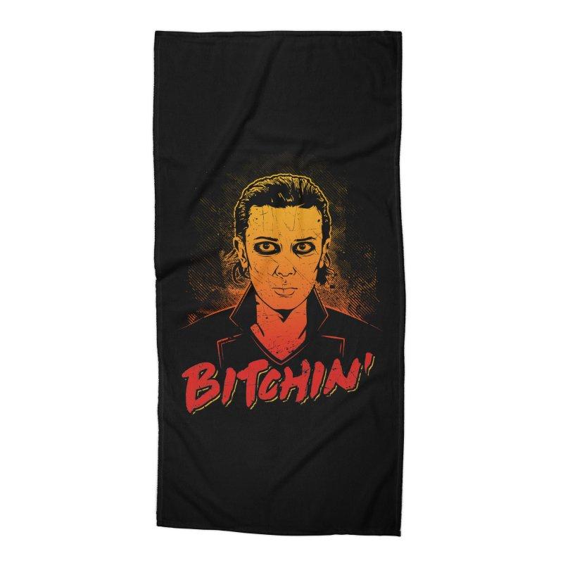 Bitchin' Accessories Beach Towel by Olipop Art & Design Shop