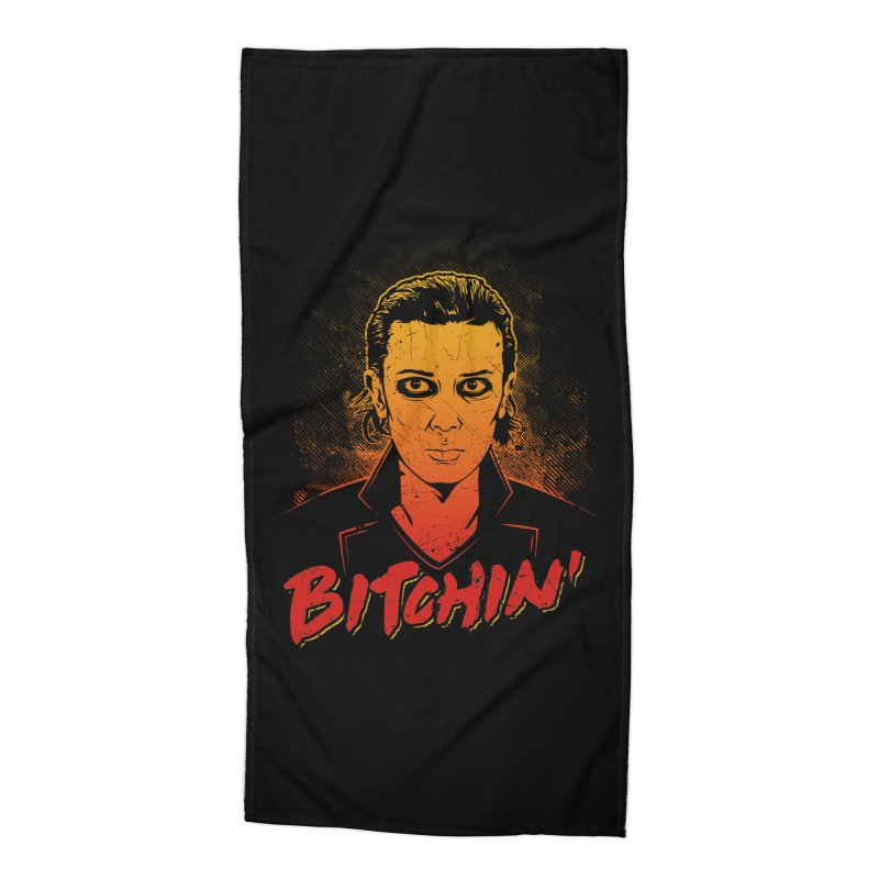 Bitchin' Accessories Beach Towel by Olipop Art & Design Shop