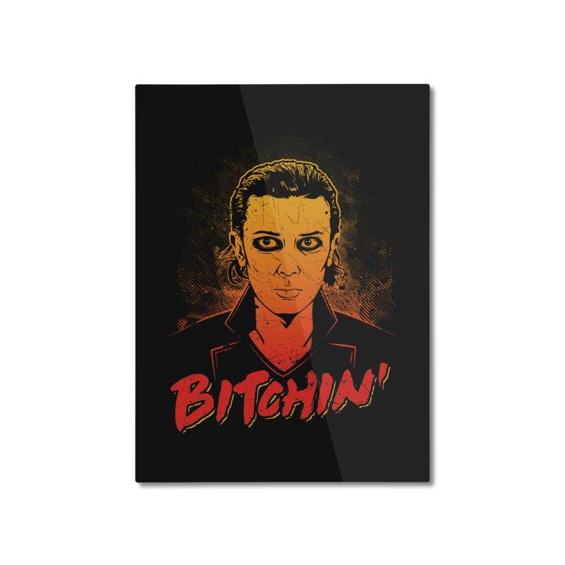 Bitchin' Home Mounted Aluminum Print by Olipop Art & Design Shop