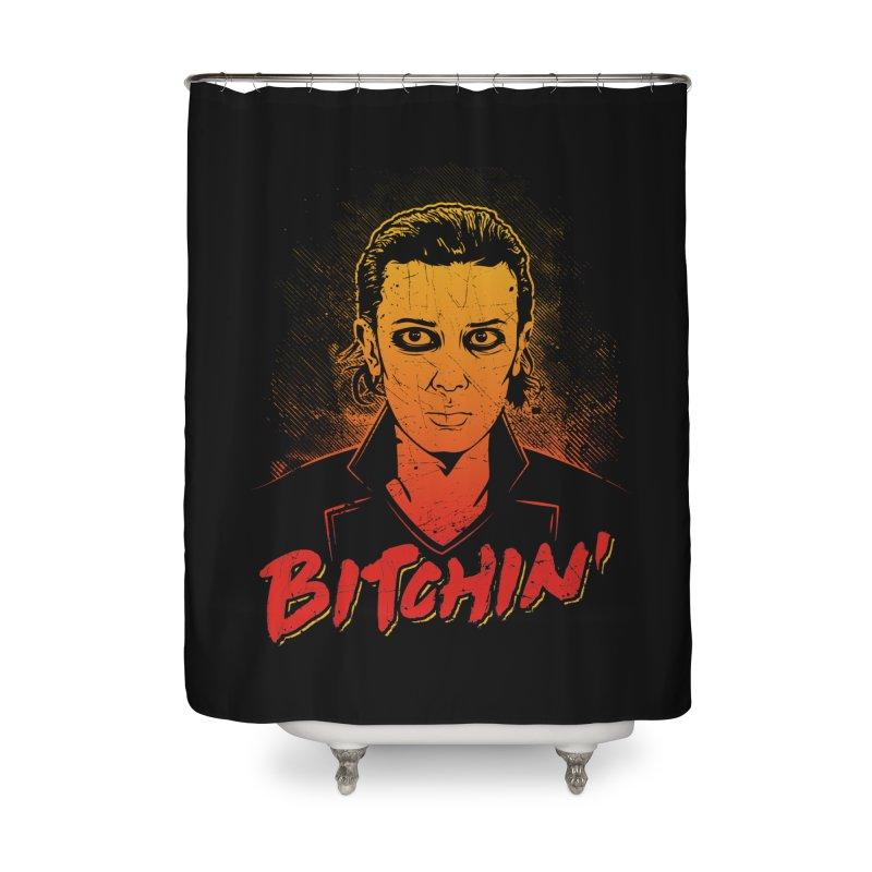 Bitchin' Home Shower Curtain by Olipop Art & Design Shop