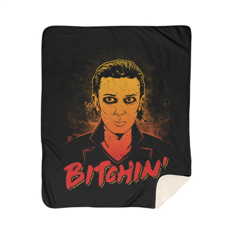 Bitchin' Home Sherpa Blanket Blanket by Olipop Art & Design Shop