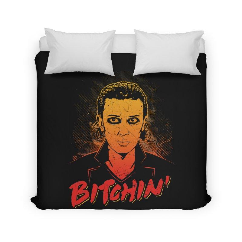 Bitchin' Home Duvet by Olipop Art & Design Shop
