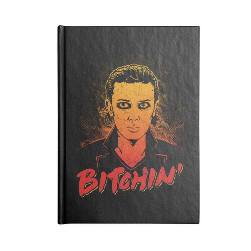 Bitchin' Accessories Blank Journal Notebook by Olipop Art & Design Shop