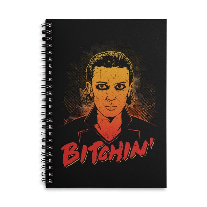 Bitchin' Accessories Notebook by Olipop Art & Design Shop