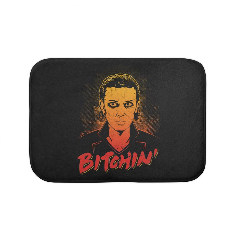 Bitchin' Home Bath Mat by Olipop Art & Design Shop