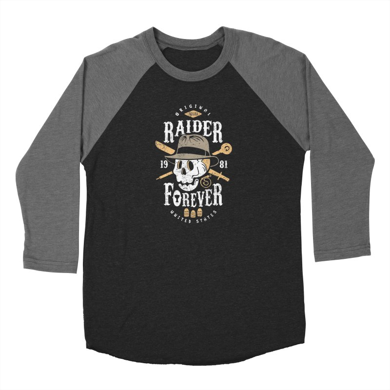 Raider Forever Women's Baseball Triblend Longsleeve T-Shirt by Olipop Art & Design Shop