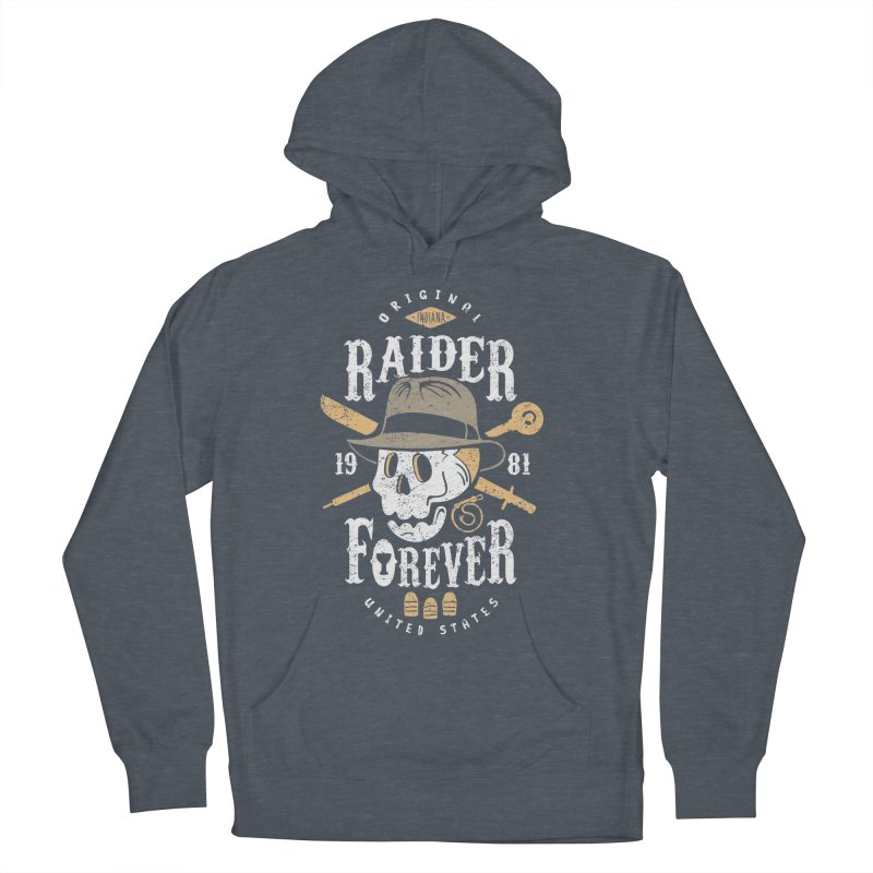 Raider Forever Women's French Terry Pullover Hoody by Olipop Art & Design Shop