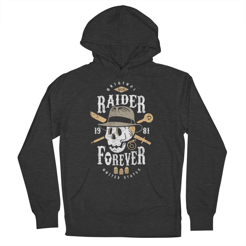 Raider Forever Men's French Terry Pullover Hoody by Olipop Art & Design Shop
