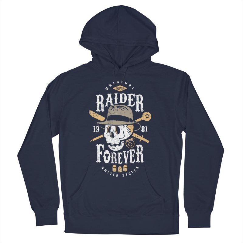 Raider Forever Men's Pullover Hoody by Olipop Art & Design Shop