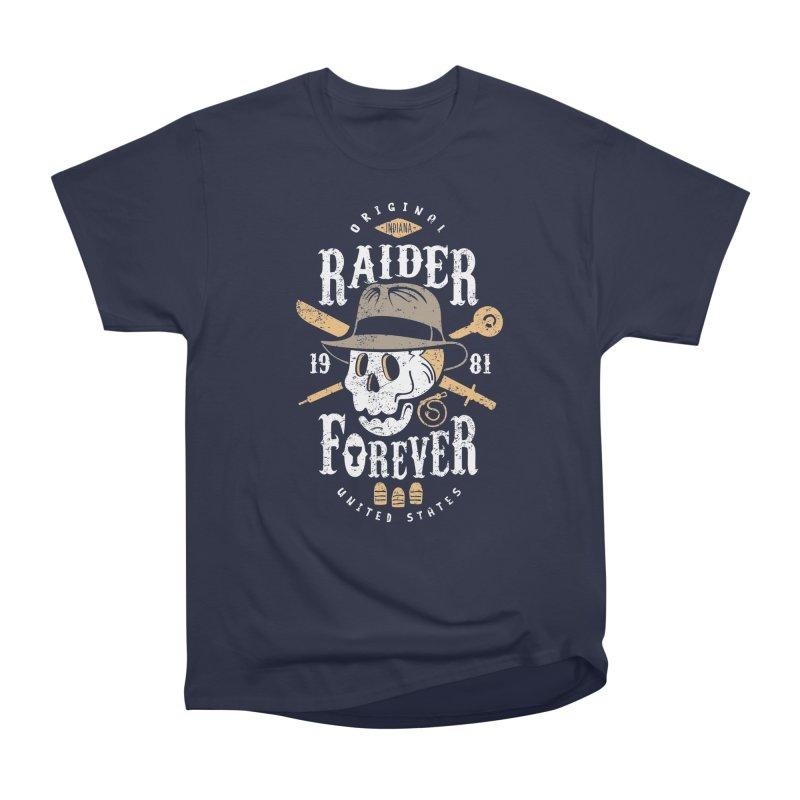 Raider Forever Men's Heavyweight T-Shirt by Olipop Art & Design Shop