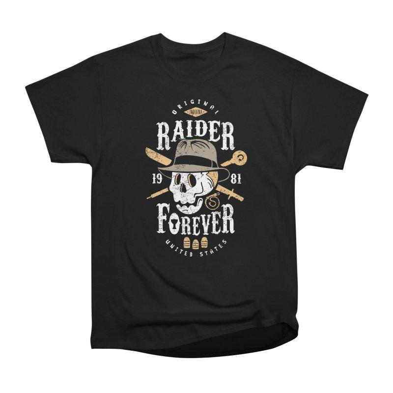 Raider Forever Women's Heavyweight Unisex T-Shirt by Olipop Art & Design Shop