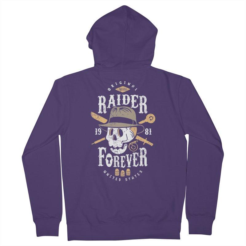 Raider Forever Women's Zip-Up Hoody by Olipop Art & Design Shop