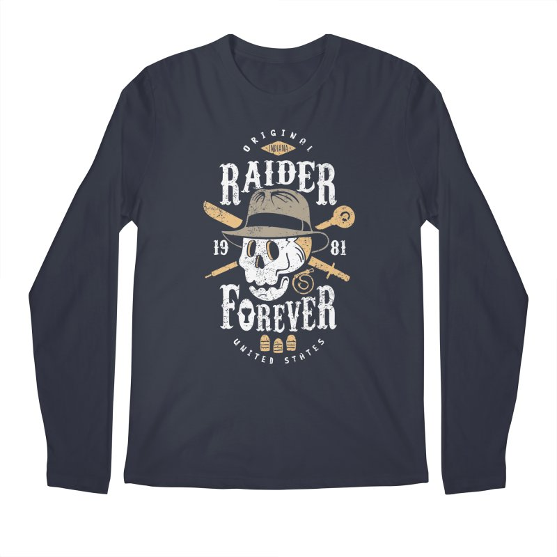 Raider Forever Men's Regular Longsleeve T-Shirt by Olipop Art & Design Shop