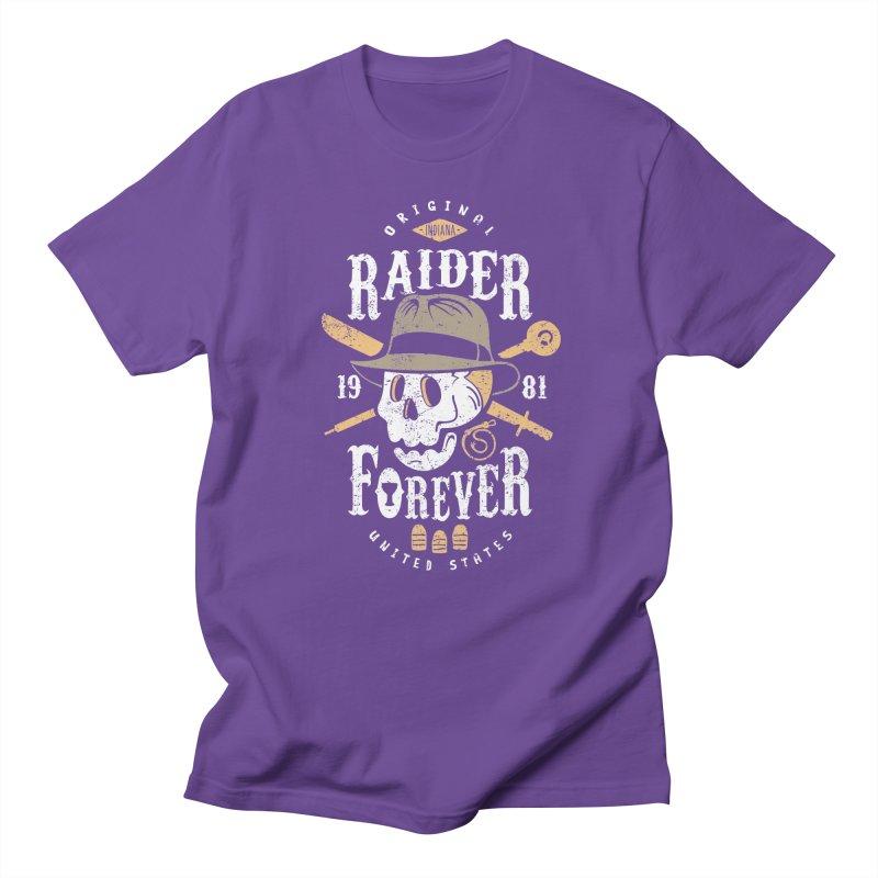 Raider Forever Men's Regular T-Shirt by Olipop Art & Design Shop