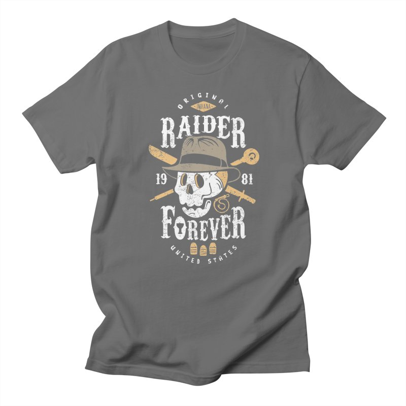 Raider Forever Women's Regular Unisex T-Shirt by Olipop Art & Design Shop