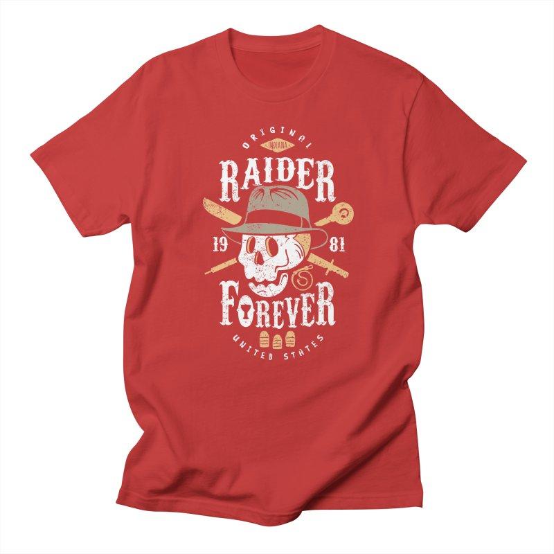 Raider Forever Women's Regular Unisex T-Shirt by Olipop Art & Design Shop