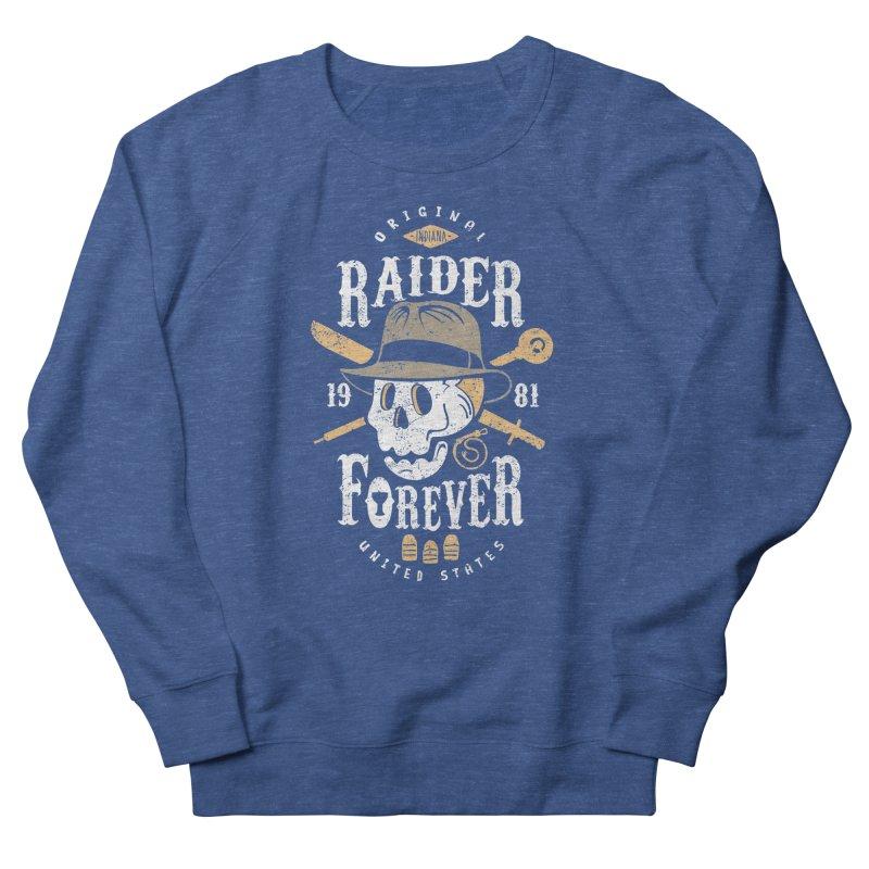 Raider Forever Women's French Terry Sweatshirt by Olipop Art & Design Shop