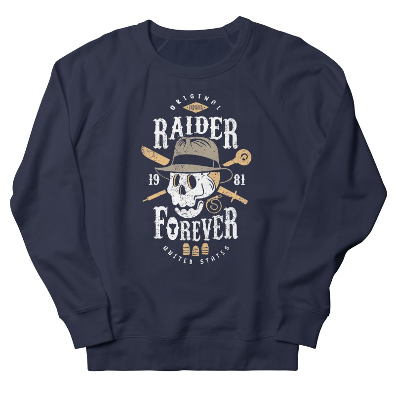 Raider Forever Women's French Terry Sweatshirt by Olipop Art & Design Shop