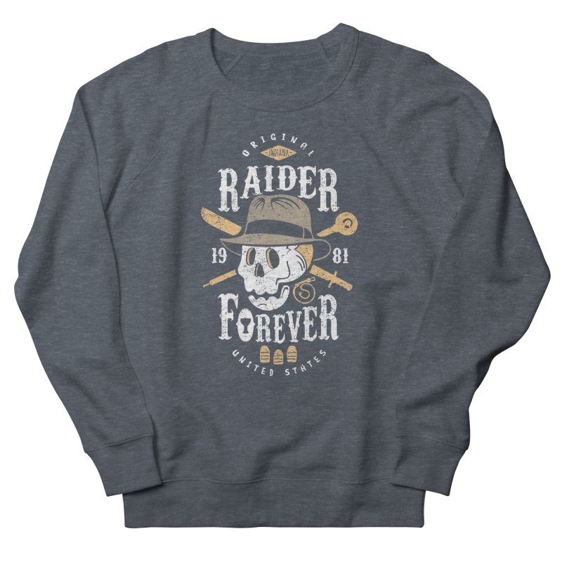 Raider Forever Men's French Terry Sweatshirt by Olipop Art & Design Shop