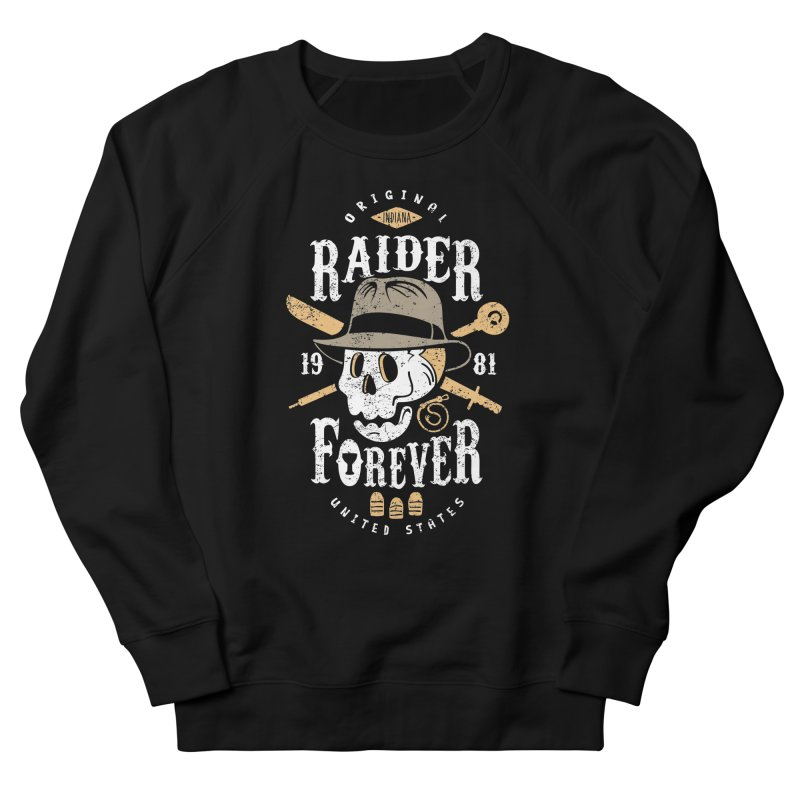 Raider Forever Men's French Terry Sweatshirt by Olipop Art & Design Shop