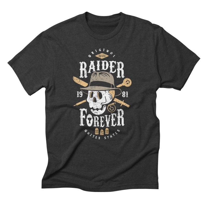 Raider Forever Men's Triblend T-Shirt by Olipop Art & Design Shop