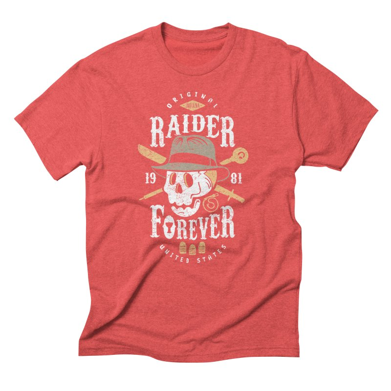 Raider Forever Men's Triblend T-Shirt by Olipop Art & Design Shop