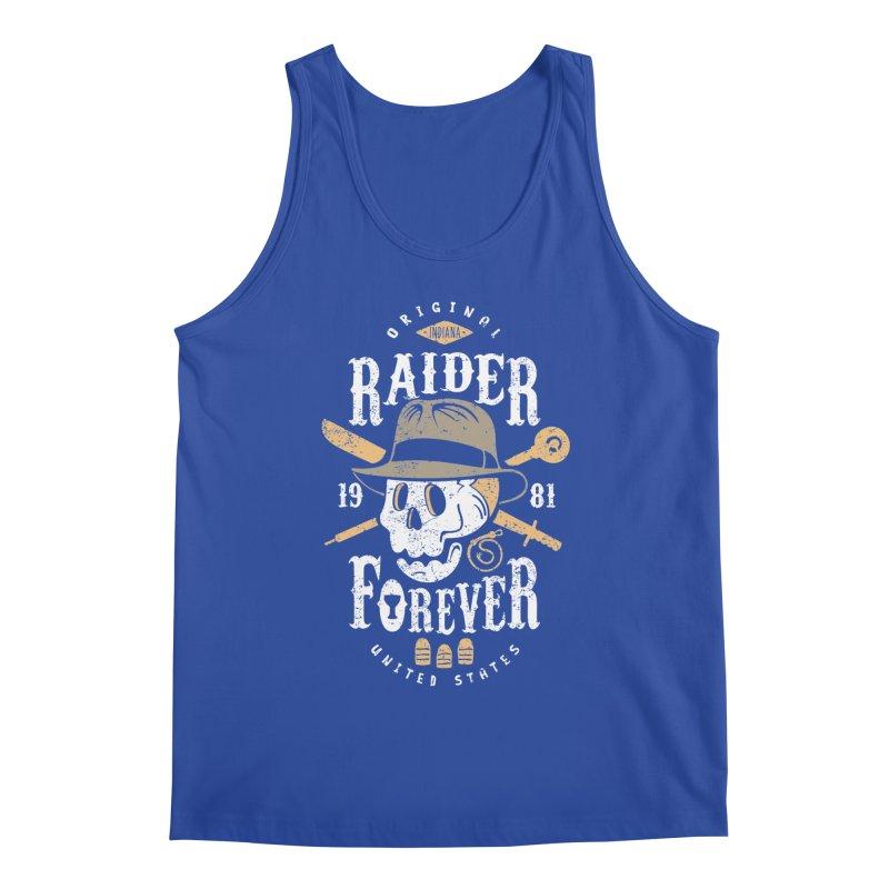 Raider Forever Men's Regular Tank by Olipop Art & Design Shop