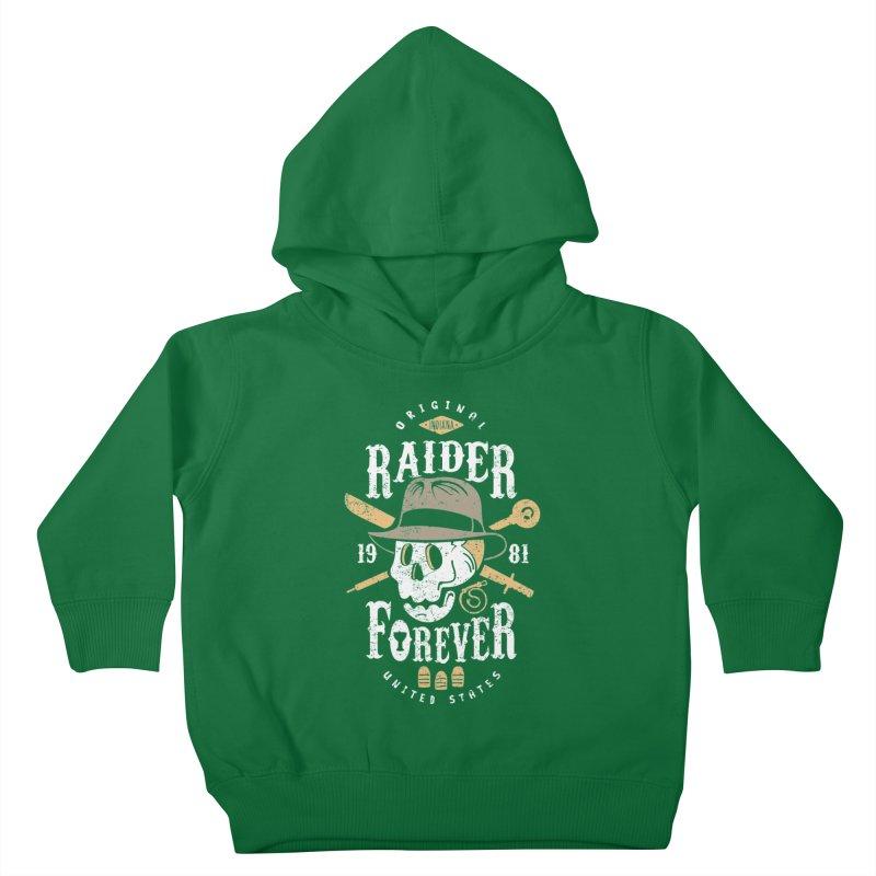 Raider Forever Kids Toddler Pullover Hoody by Olipop Art & Design Shop