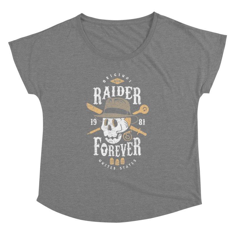 Raider Forever Women's Dolman Scoop Neck by Olipop Art & Design Shop